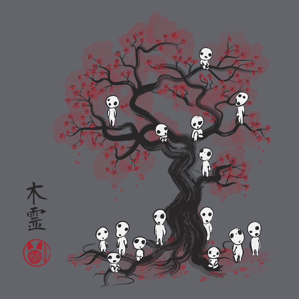 Pop-Up Tee: Daily Deal - Forest Spirits Sumie