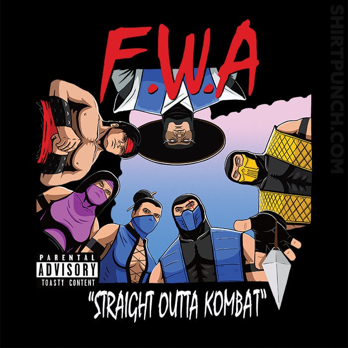 ShirtPunch: Straight Outta Kombat