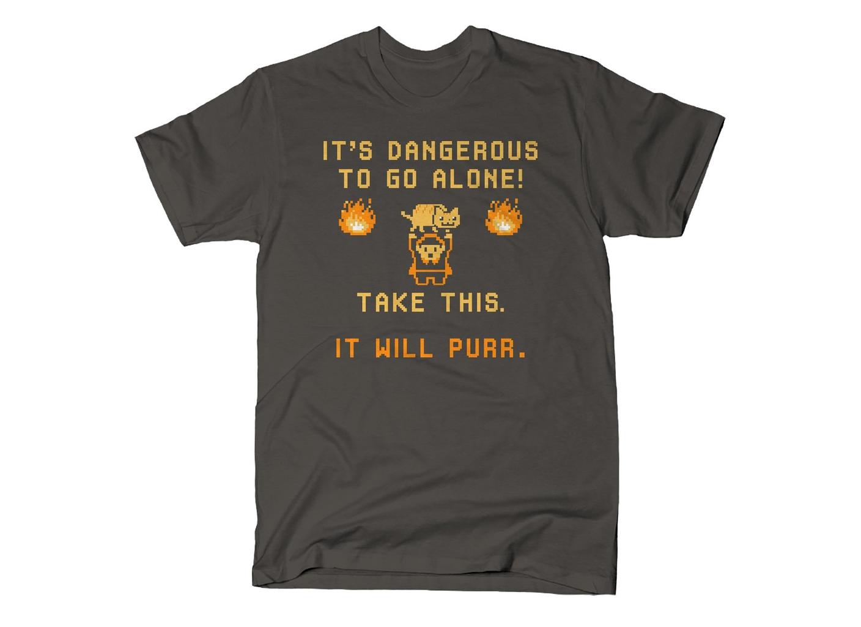 SnorgTees: It's Dangerous To Go Alone