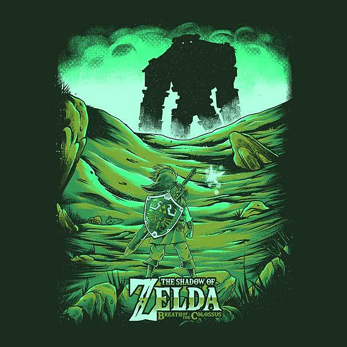 Once Upon a Tee: Breath of the Colossus