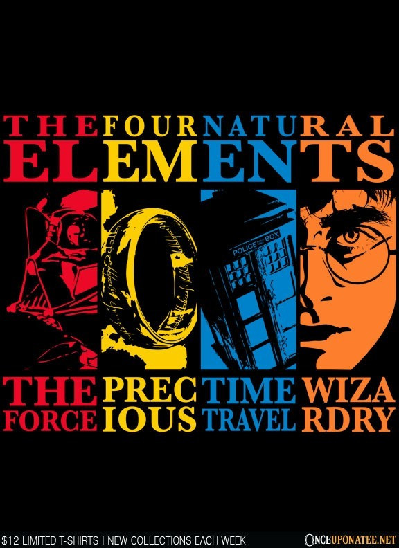 Once Upon a Tee: Four Elements