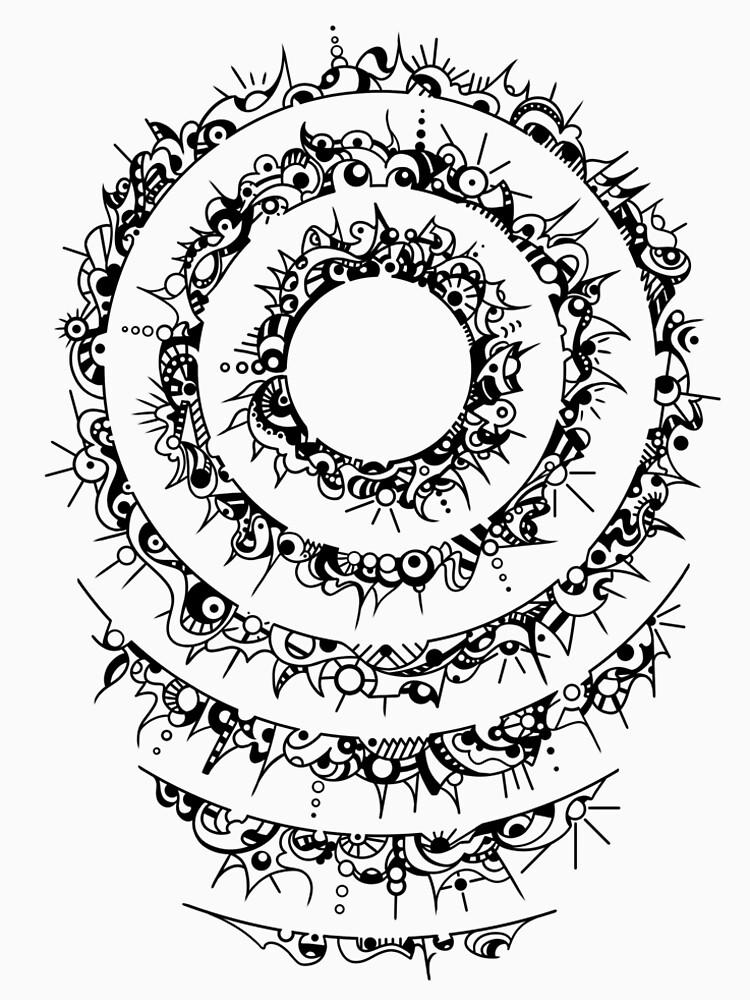 RedBubble: Concentric circles doodle
