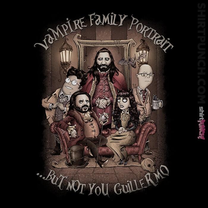 ShirtPunch: Vampire Family Portrait