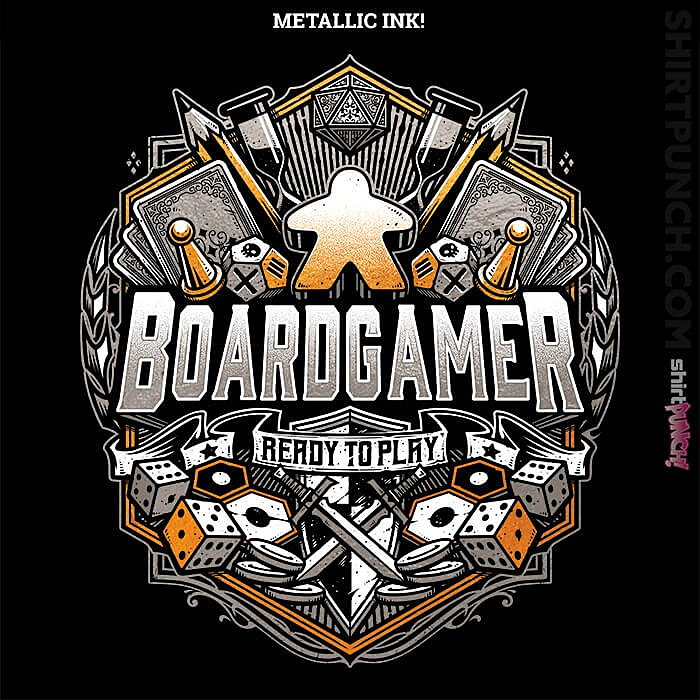 ShirtPunch: Boardgamer