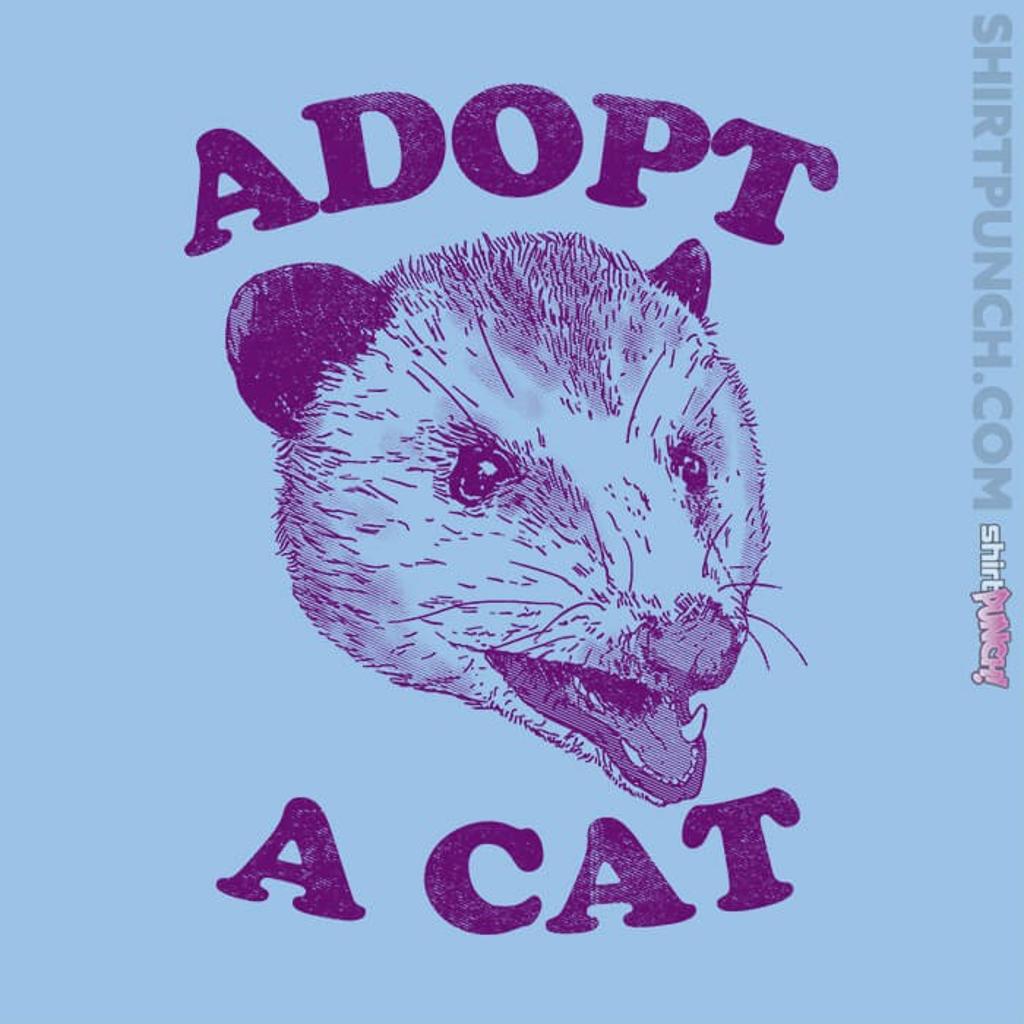 ShirtPunch: Adopt A Cat