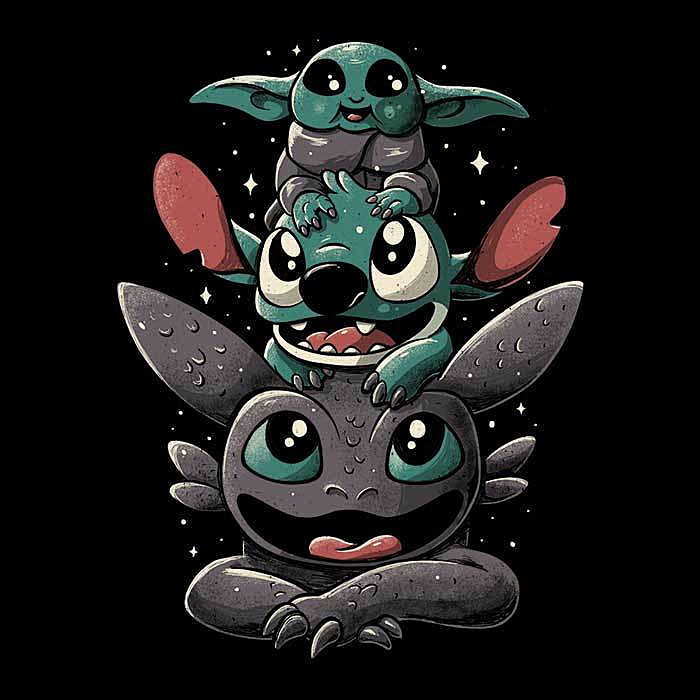 Once Upon a Tee: Cuteness Tower
