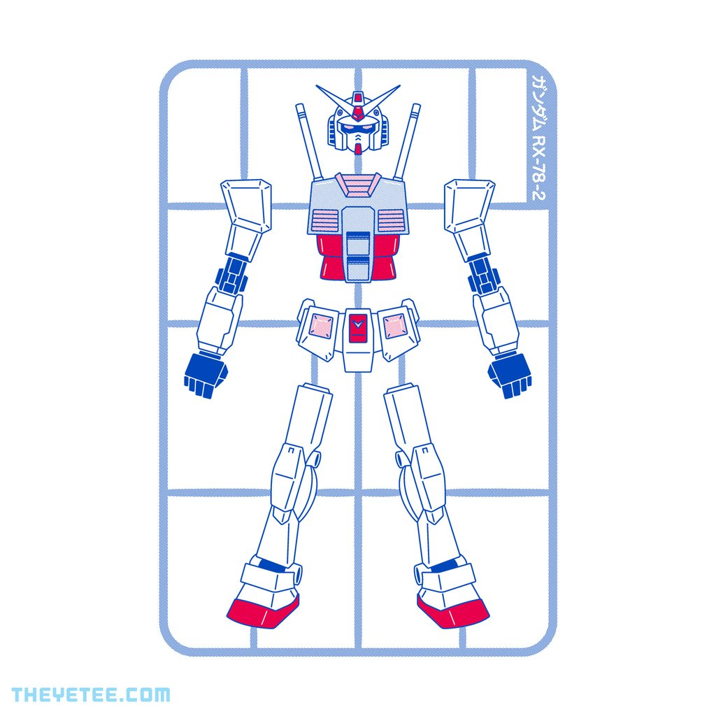 The Yetee: Model RX-78-2