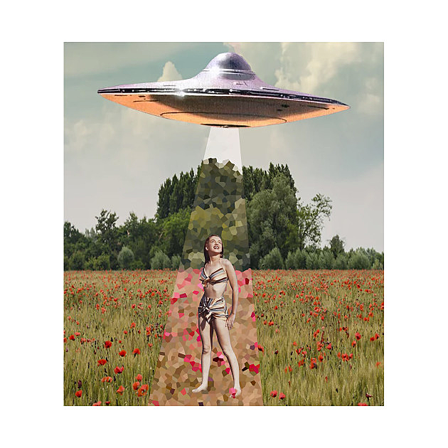 TeePublic: Get in Loser Collage Art