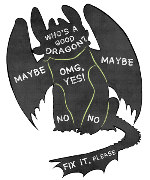 Qwertee: How To Pet Your Dragon