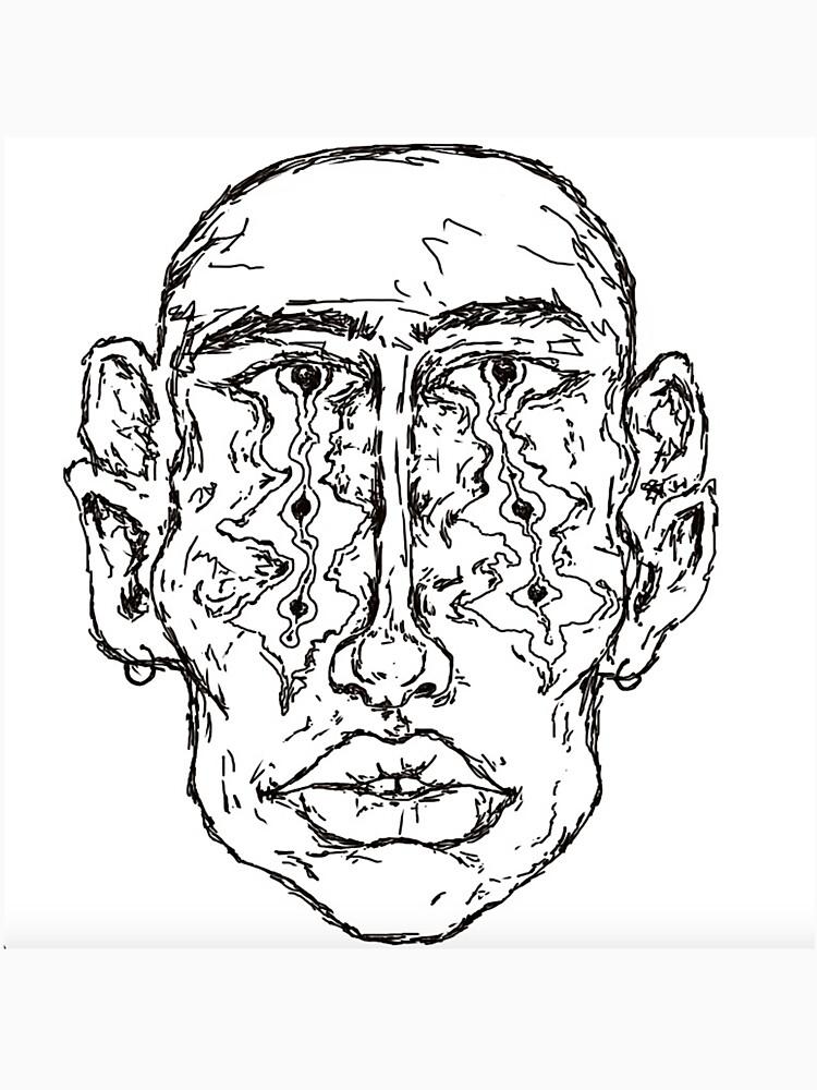 RedBubble: head melt