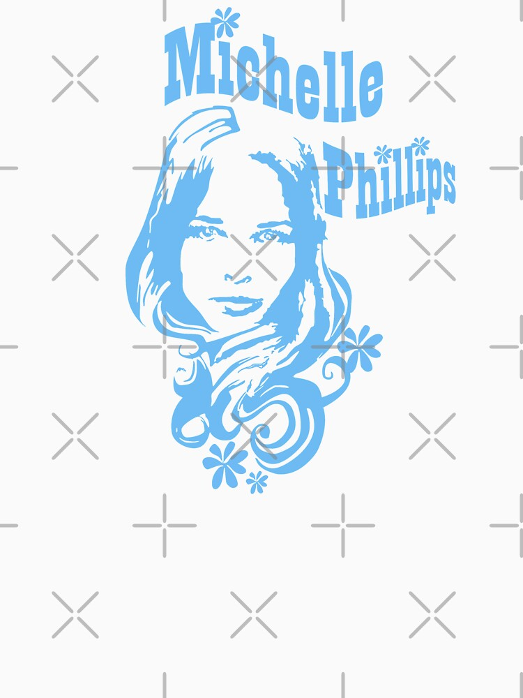RedBubble: Michelle Phillips Mamas and the Papas Shirt, Sticker, Mask