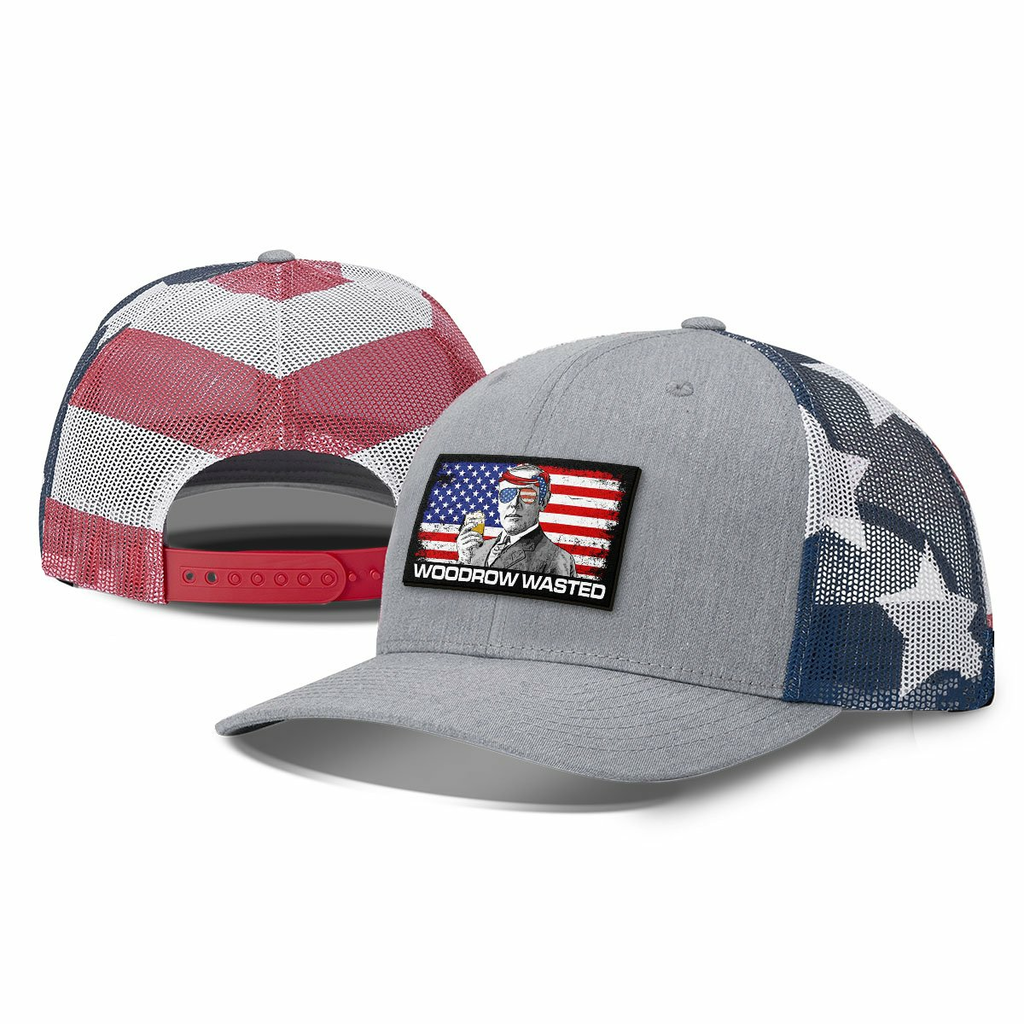 BustedTees: Woodrow Wasted Patch Hats