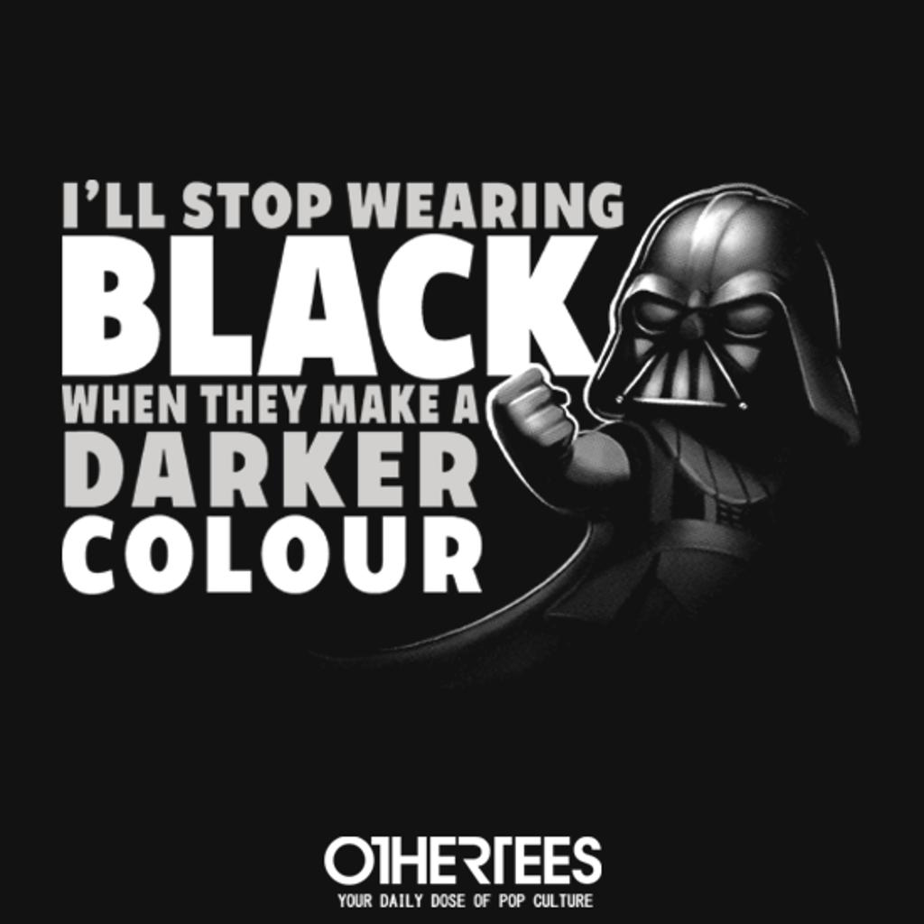 OtherTees: Black Tee