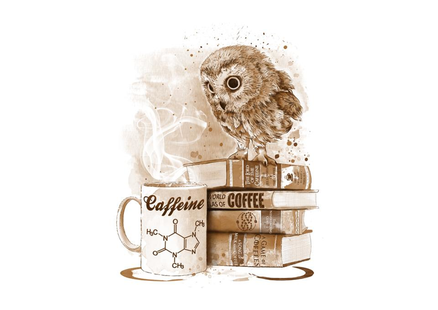 TeeFury: Coffee Obsessed