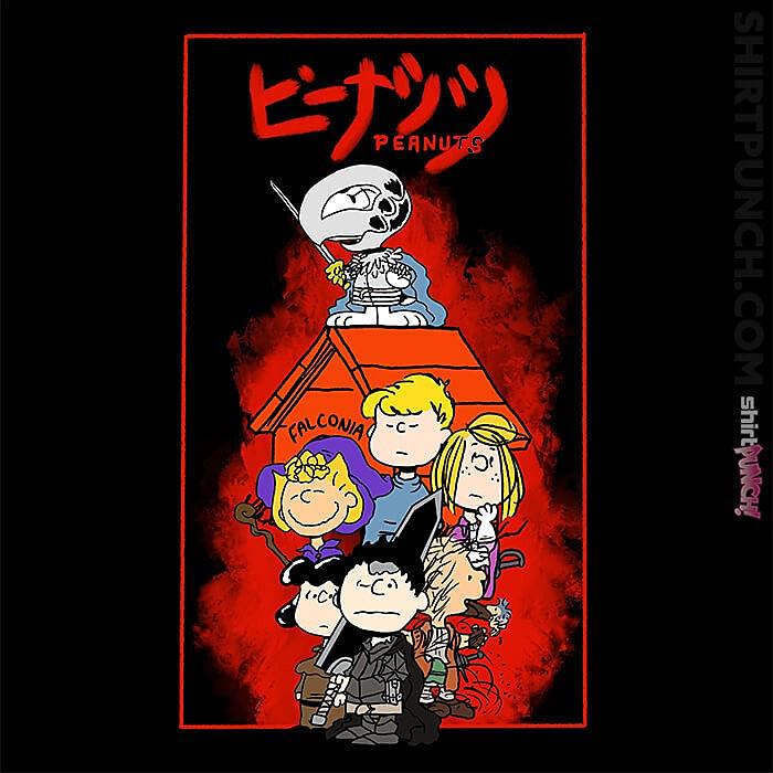 ShirtPunch: Berserk Peanuts