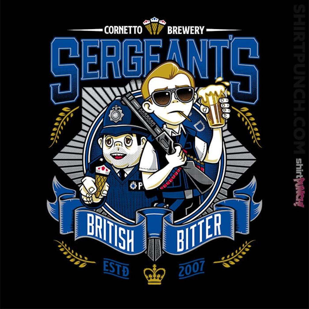 ShirtPunch: Sergeant's British Bitter
