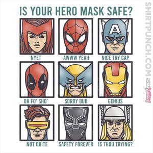 ShirtPunch: Marvelous Masks
