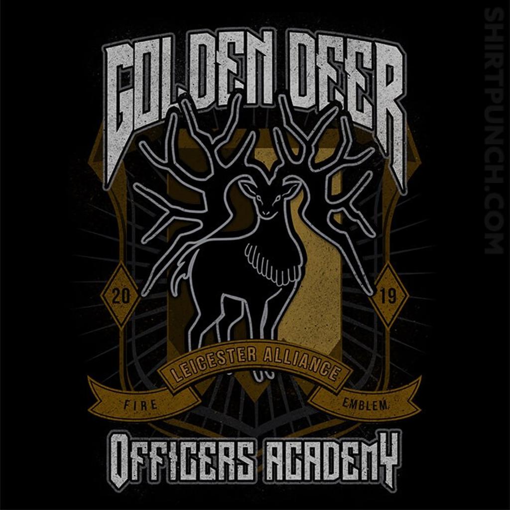 ShirtPunch: Golden Deer