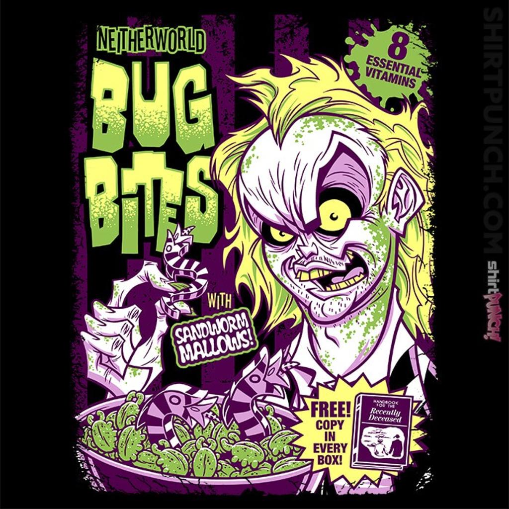 ShirtPunch: Neitherworld Bug Bites
