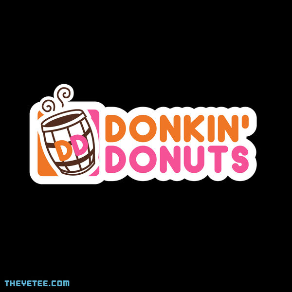 The Yetee: Donkin' Donuts