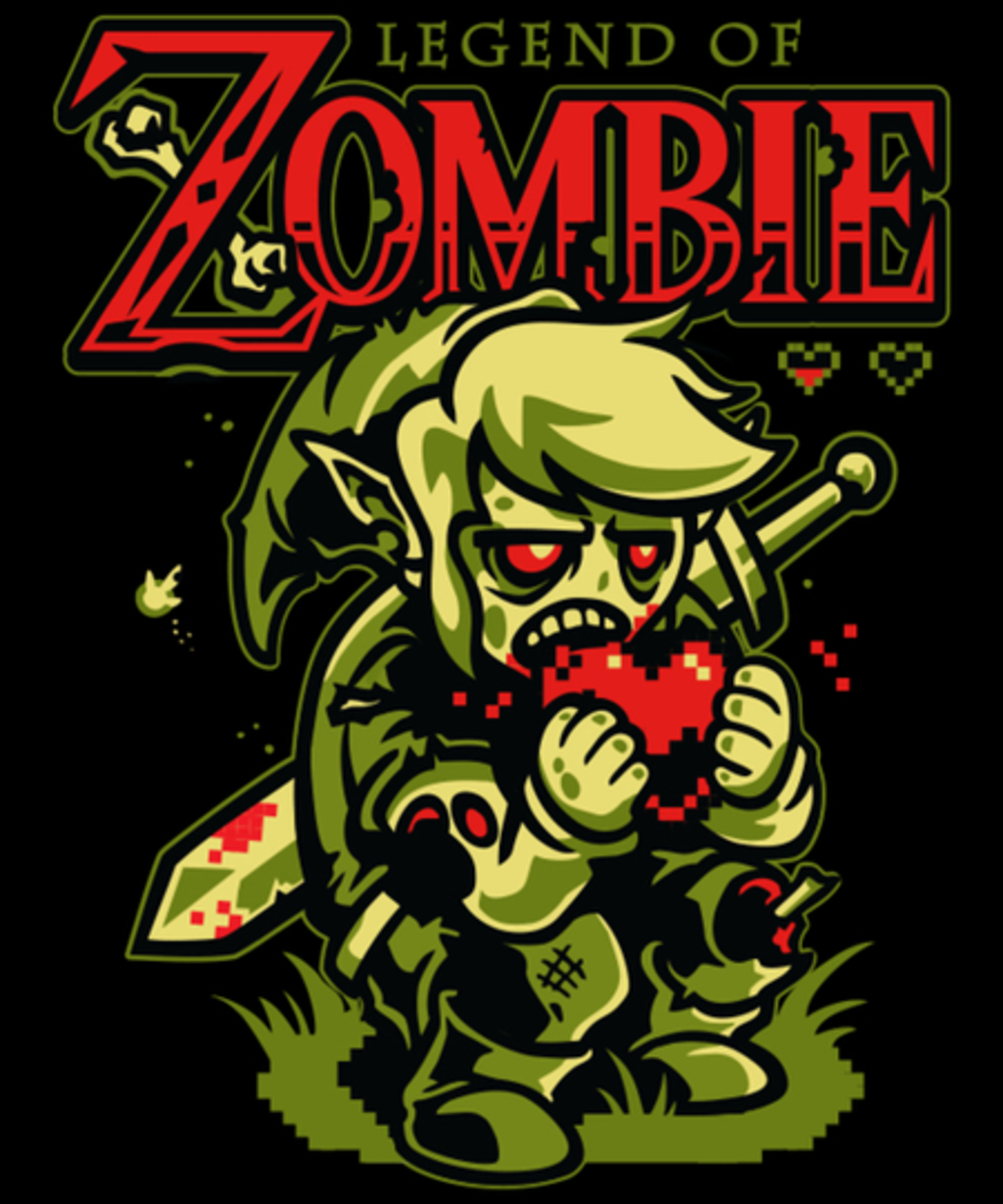 Qwertee: Legend of Zombie
