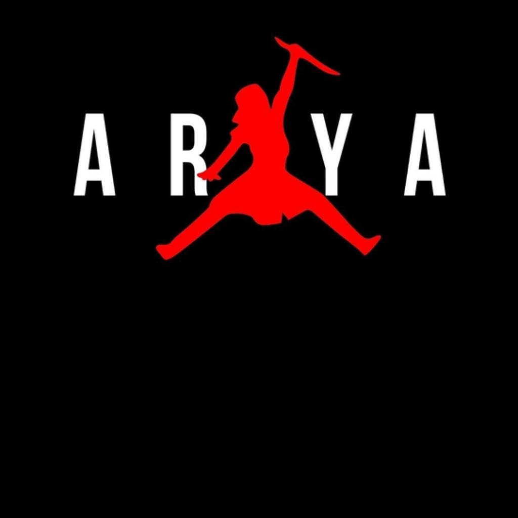 BustedTees: ARYA black tee