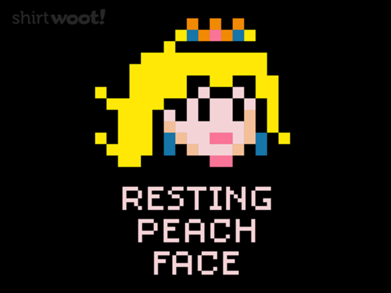 Woot!: Resting Peach Face