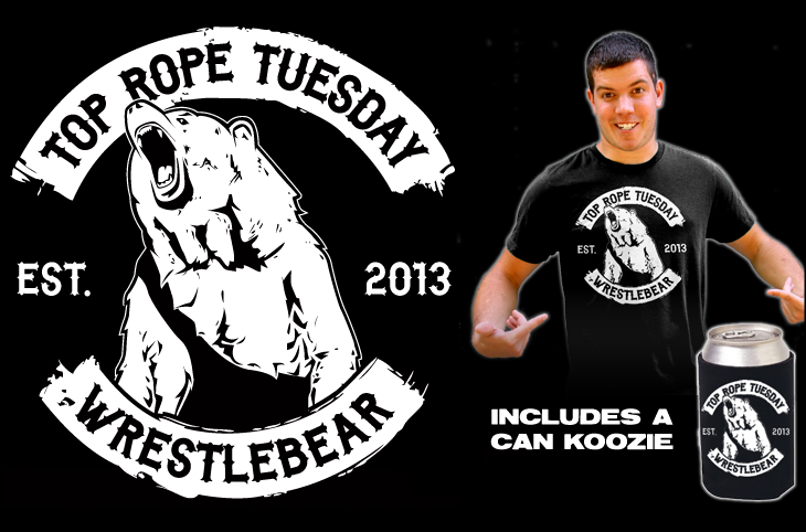 Top Rope Tuesday: Wrestlebear w/ Can Koozie