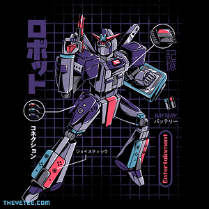 The Yetee: Video Game Robot - Model N