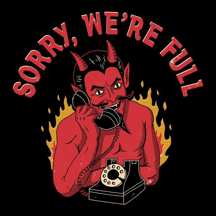 Once Upon a Tee: Sorry We're Full