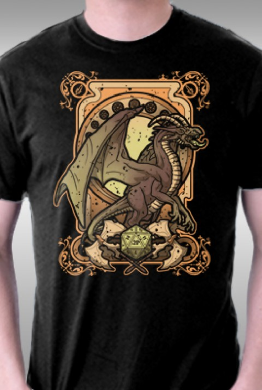 TeeFury: Dark Dragon