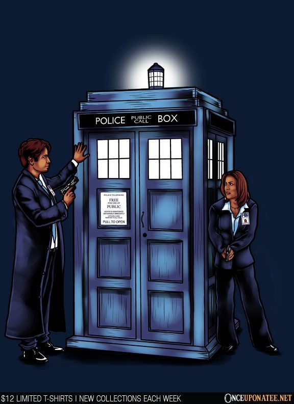 Once Upon a Tee: The Agents Have the Phonebox