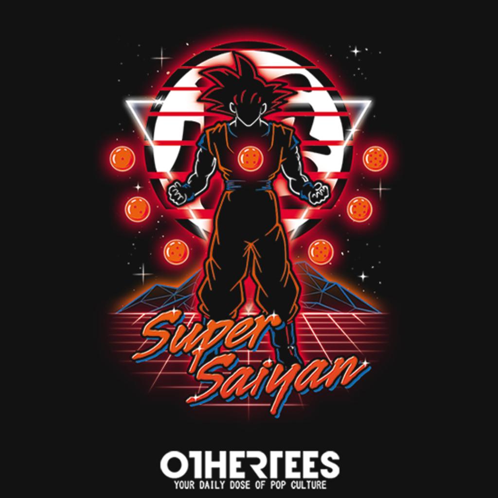 OtherTees: Retro Super Saiyan