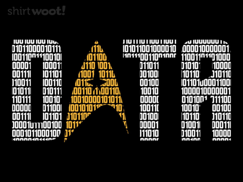 Woot!: Data