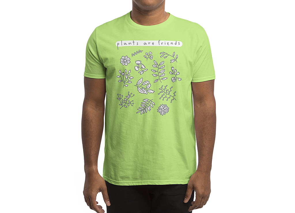 Threadless: Plants are friends