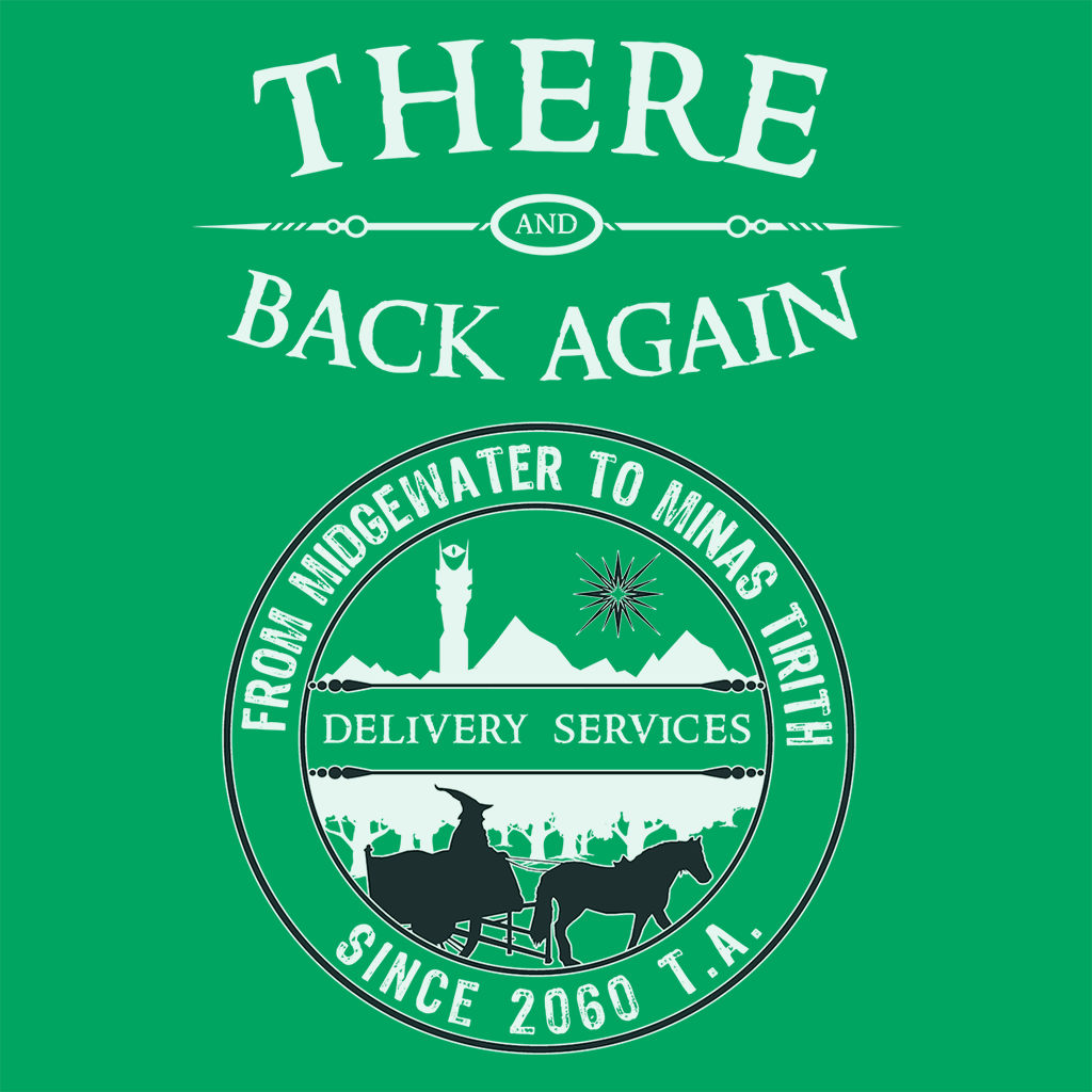 Pop-Up Tee: There And Back Again Delivery Service