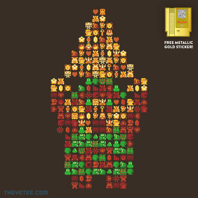 The Yetee: HYRULE HERO