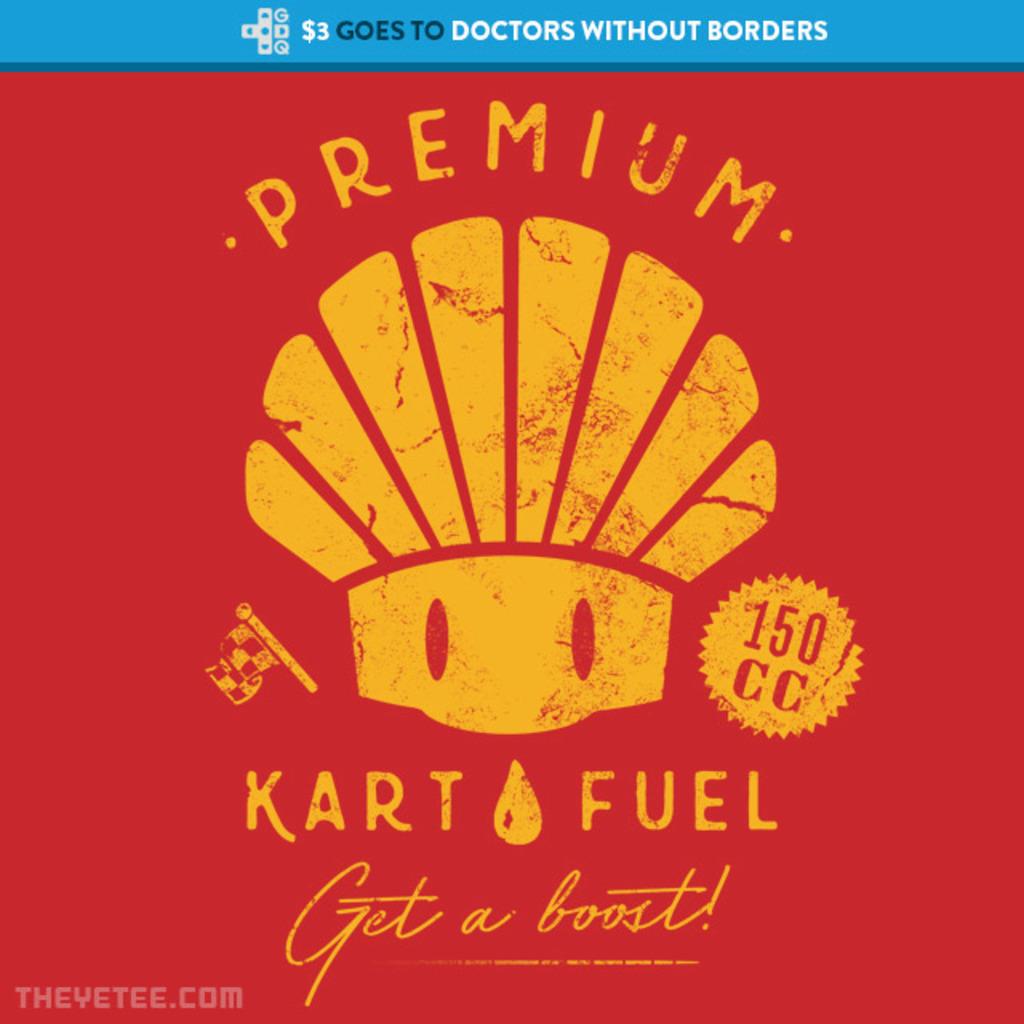 The Yetee: Shroom Kart Fuel