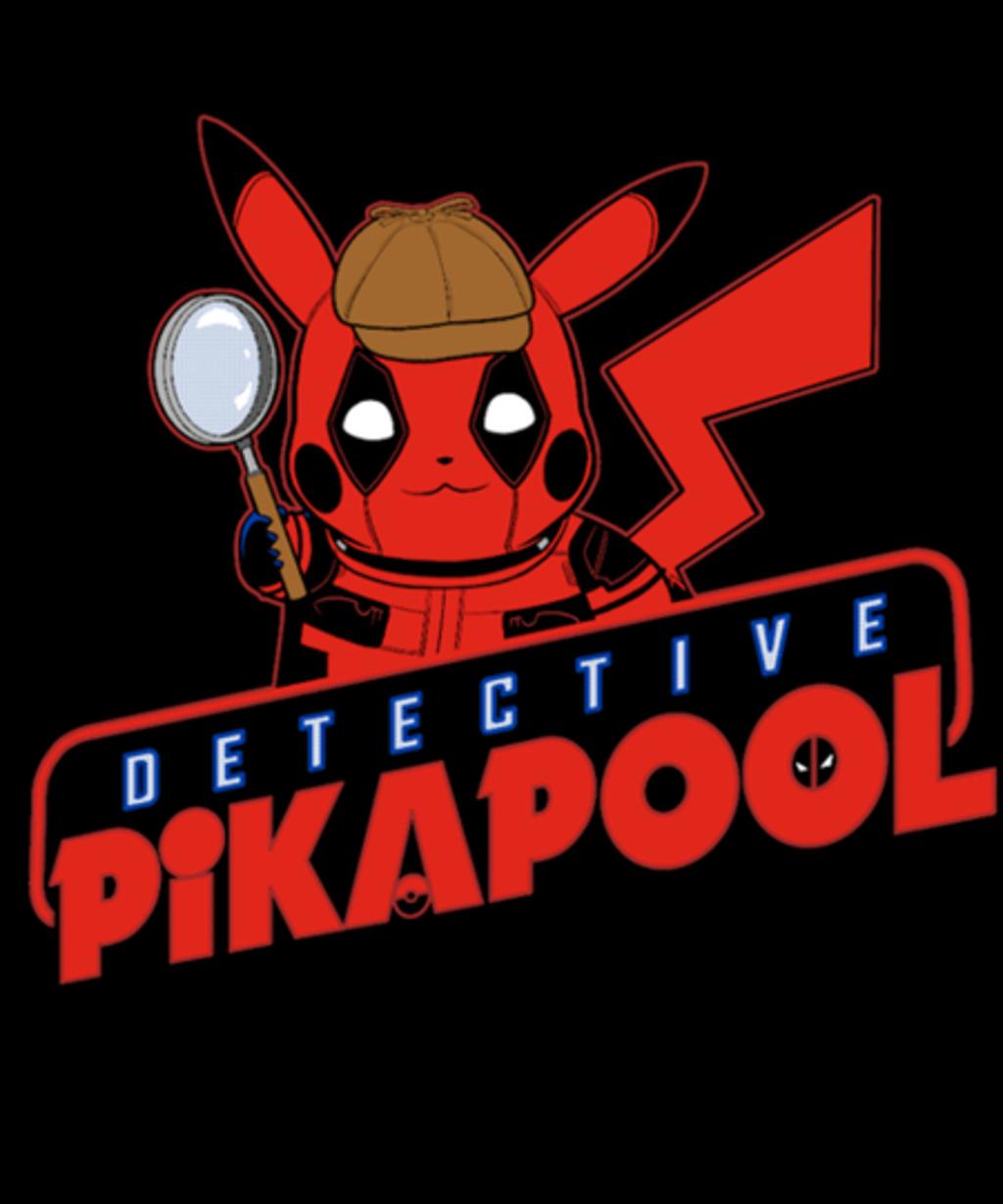 Qwertee: Detective Pikapool