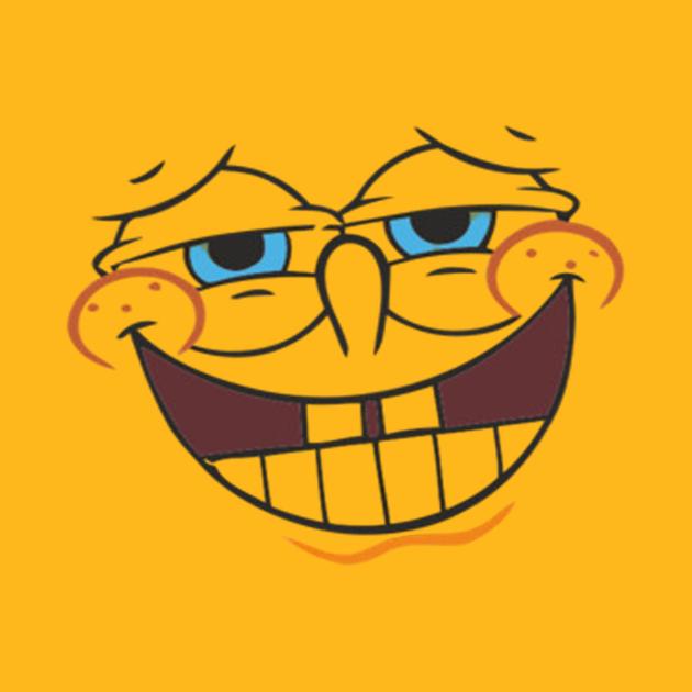 TeePublic: spongbob face