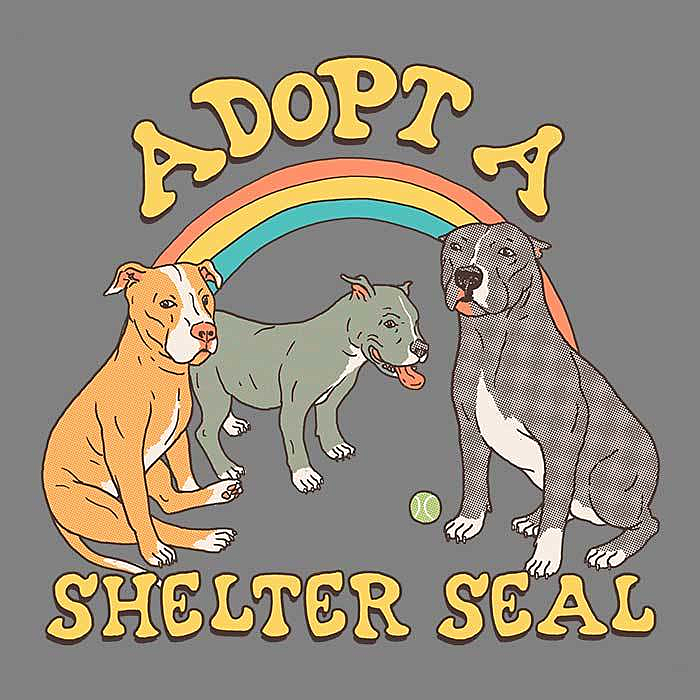 Once Upon a Tee: Adopt a Shelter Seal