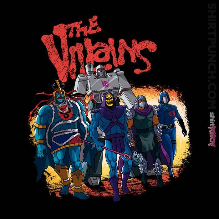 ShirtPunch: The Villains