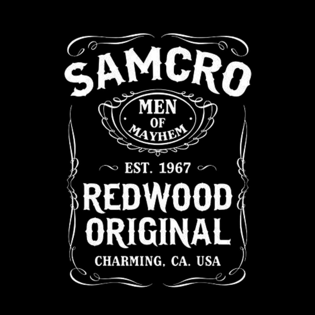 Five Finger Tees: Samcro Redwood Original T-Shirt