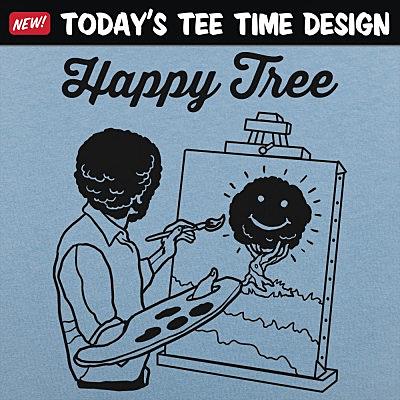6 Dollar Shirts: Happy Tree