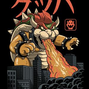 Qwertee: Koopa Kaiju