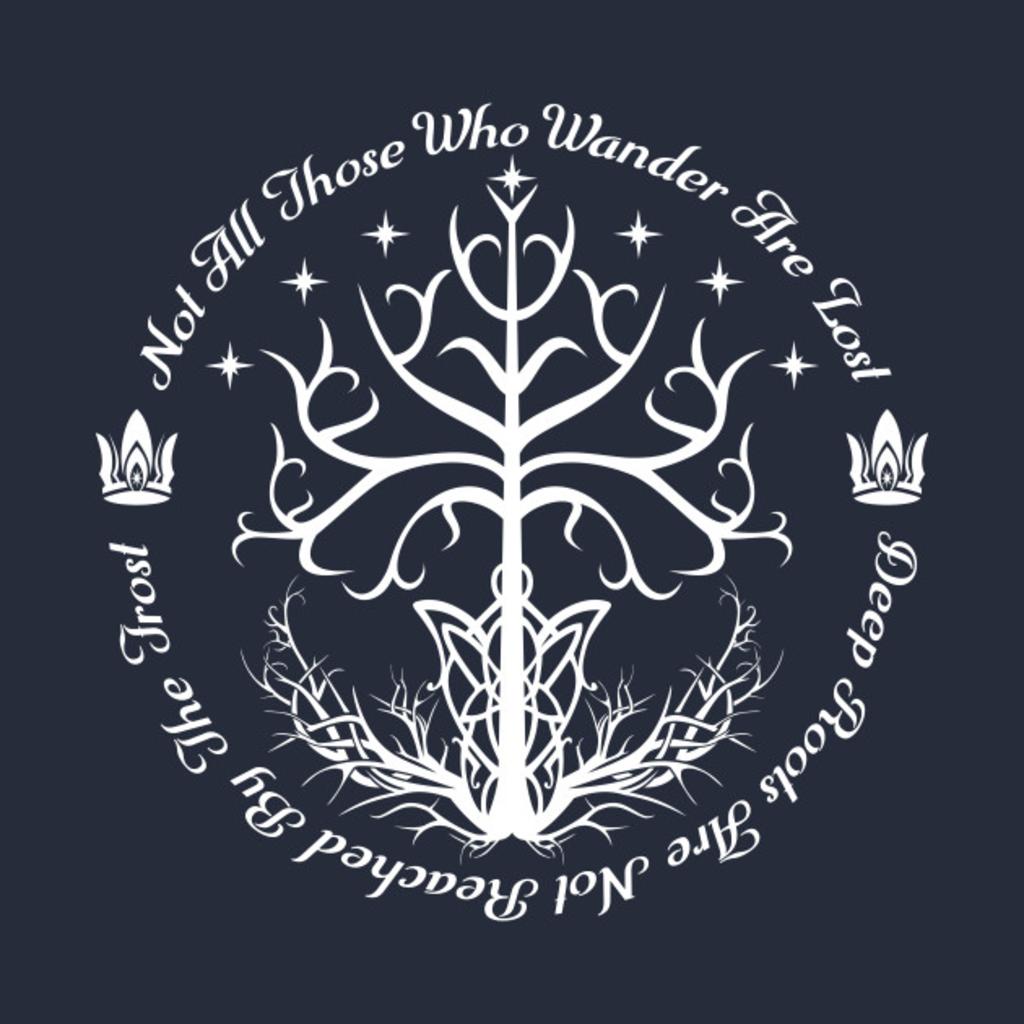 TeePublic: White Tree of Hope