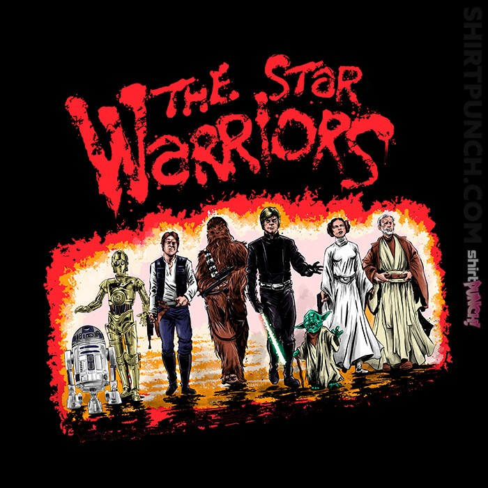 ShirtPunch: Star Warriors