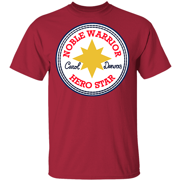 Pop-Up Tee: Nobel Warrior Hero Star