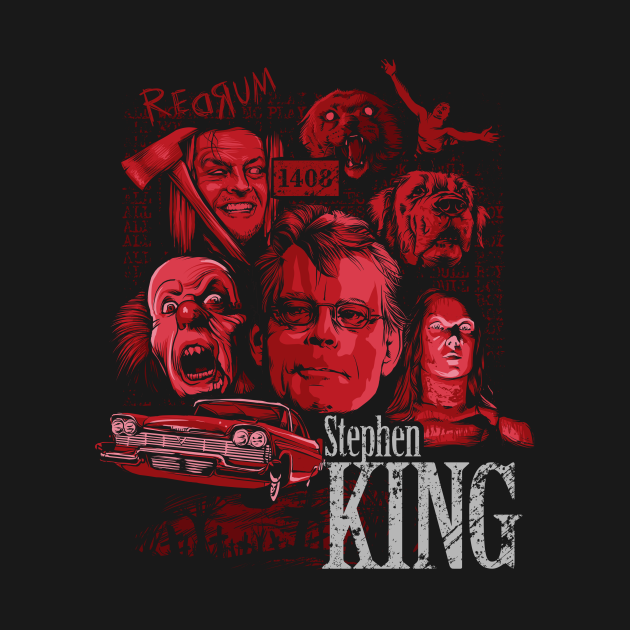 TeePublic: Stephen King