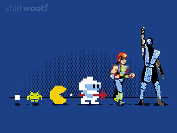 Woot!: Eight-bit Evolution